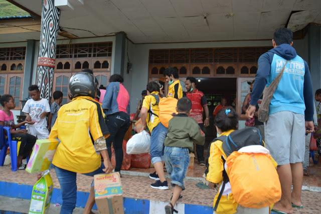 Bantuan Bagi Korban Banjir Bandang