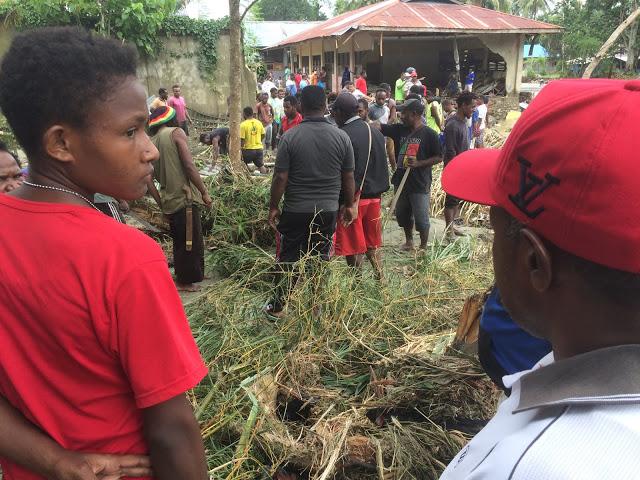 Dukungan Bagi Korban Bencana Sentani